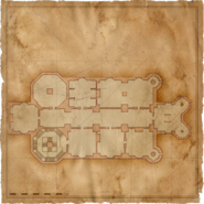 Map Kaer Morhen first floor