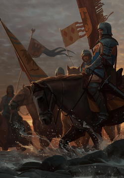 Gwent cardart northern lyrian cavalry