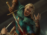 Meve: Ornamental Sword (Thronebreaker card)