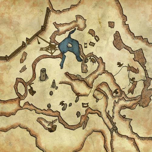 Мапа поля битви (Відьмак 2)