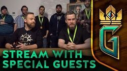 GWENT THE WITCHER CARD GAME Stream with Special Guests