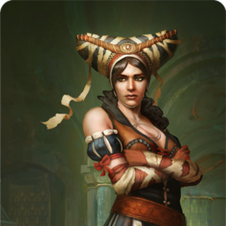 Sile's gwent card art