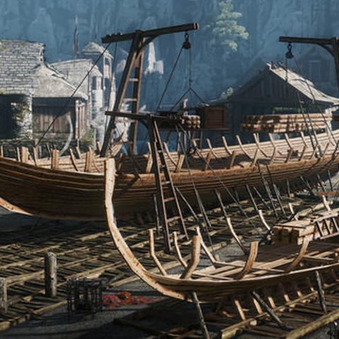 «Морський Вепр» будується на корабельнях біля Каер-Трольде