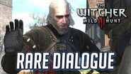 Witcher 3 Rare Dialogue Choice Ask the Novigrad Doppler to Impersonate Menge