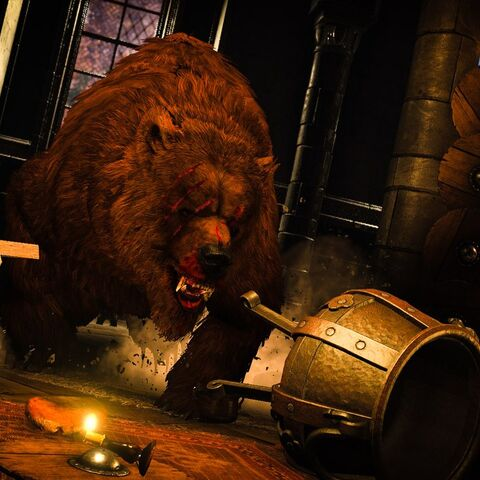 Берсерк у звіриній подобі, у грі «Відьмак 3: Дикий Гін»