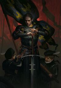 Gwent cardart nilfgaard battle preparation