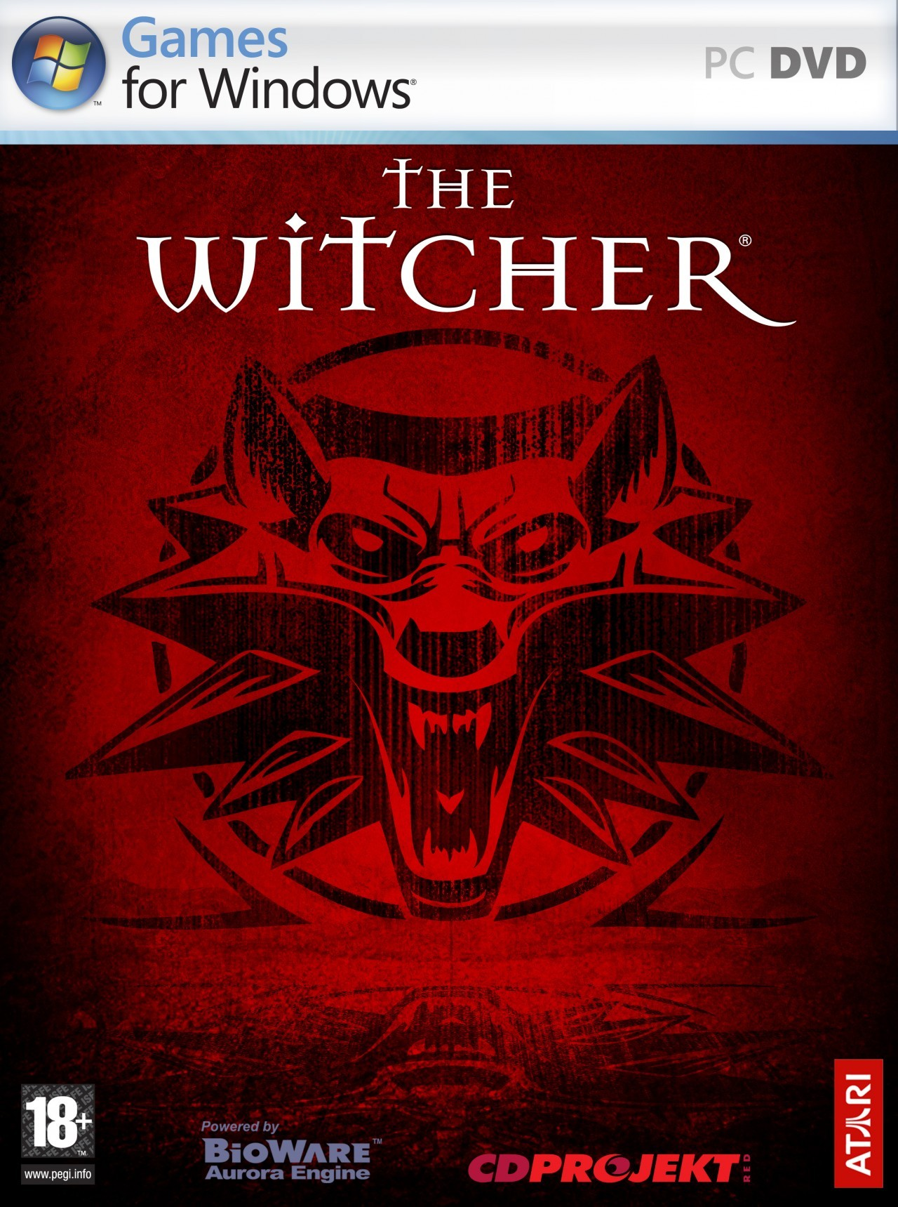Cubierta del DVD The Witcher