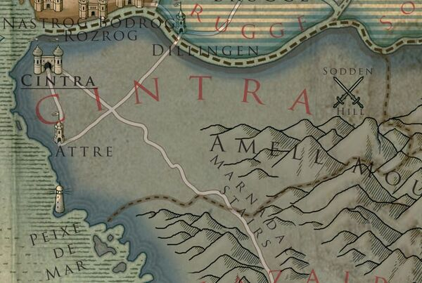 Cintra Colored map