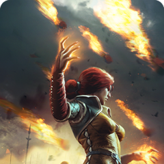 Triss' alternative Gwent card art
