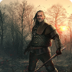 Vesemir's alternative gwent card art