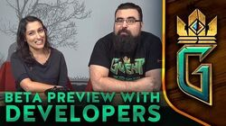 GWENT The Witcher Card Game Closed Beta Preview with Developers