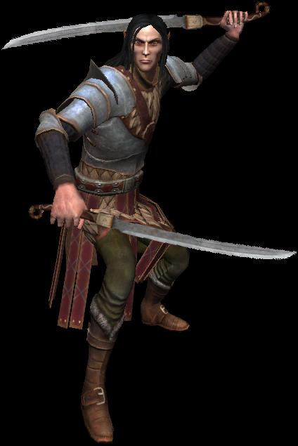Yaevinn, membre de la Scoia'tael