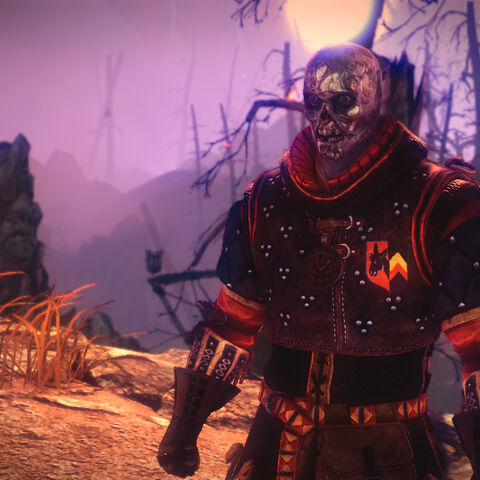 Seltkirk's ghost in The Witcher 2