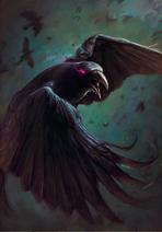 Gwent cardart skellige crow