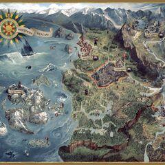 Mapa de The Witcher 3 por <a href=
