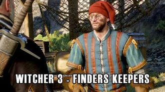 The Witcher 3 Wild Hunt - Finders Keepers