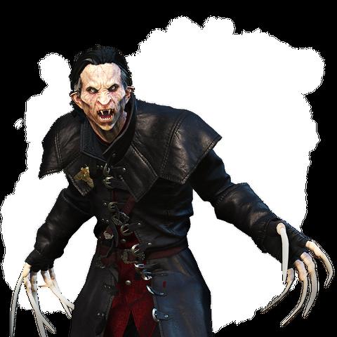 Dettlaff pod postacią wampira wyższego