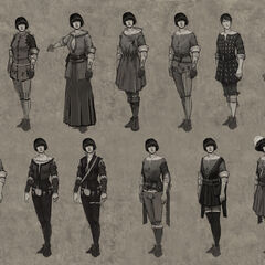 Concept art of Shani for <i>The Witcher 2</i>