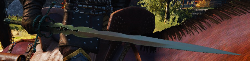 Wolf Sword The Witcher 3