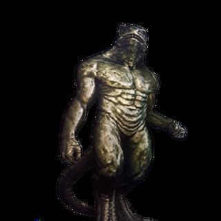 Статуя врана у грі «Відьмак 2: Вбивці Королів»