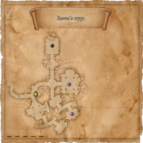 Map of Raven's crypt