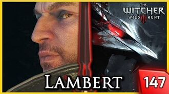 Witcher 3 ► The Final Trial - How Lambert Became a Witcher (Quest in Kaer Morhen) 147 PC
