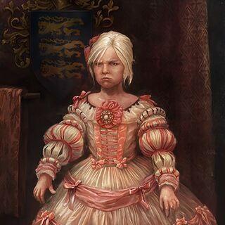 Портрет малої Цірілли у Емгира вар Емрейса