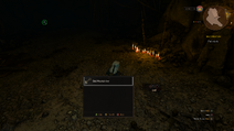Looting the Bald Mountain key during the Bald Mountain quest