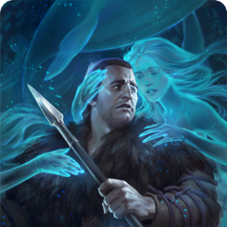 Blueboy's gwent card art