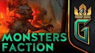 BETA VIDEO Monsters Faction GWENT The Witcher Card Game