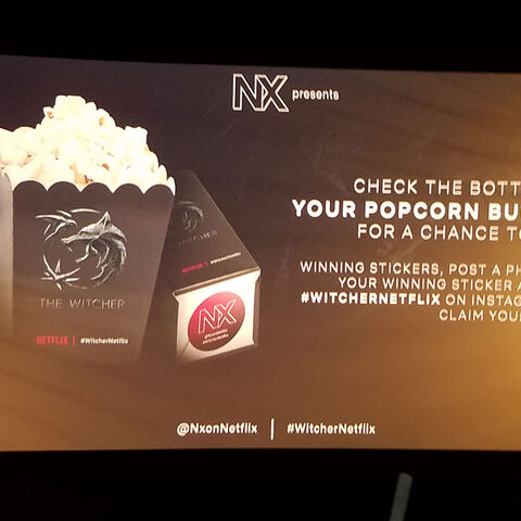 Onscreen popcorn