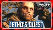 Witcher 3 🌟 Letho's Quest 🌟 Sending him to Kaer Morhen