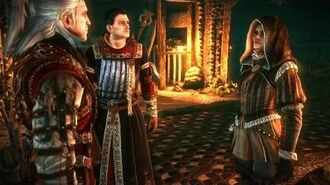 Geralt and Cynthia Adventures in Dungeons of Loc Muinne Full Story (Witcher 2 Secrets)