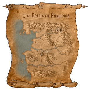 Map Northern Kingdoms