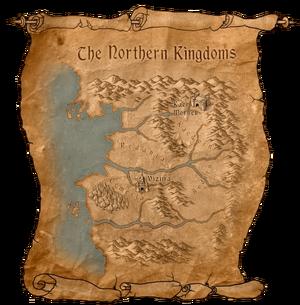 Map Northern Kingdoms