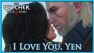 The Witcher 3 - Kiss on the Mountain - Geralt Loves Yennefer even after the Spell is Broken