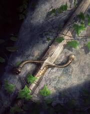 Gwent cardart scoiatael elven blade
