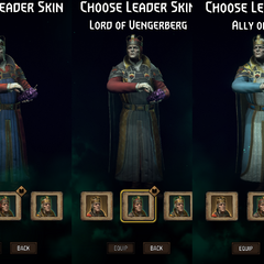 Gwent leader skin front