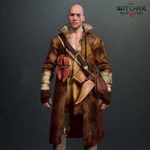 Таляр, рендер до гри «Відьмак 3: Дикий Гін»