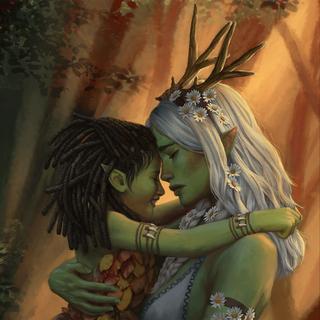 Morénn and her mother Eithné