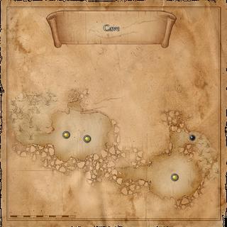 Mappa della grotta settentrionale