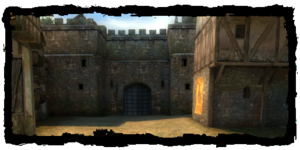 Places Trade Quarter gate inside