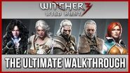 The Witcher 3 - FULL Walkthrough Good Part 1 - All Side Quests & Contracts - Gameplay & Story PC