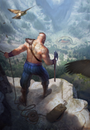 Gwent cardart northern reaver scout