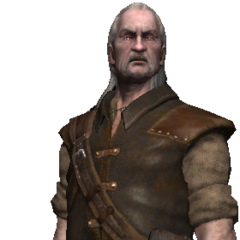 Vesemir full render as in <i>The Witcher</i>