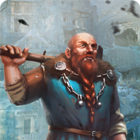 Sheldon's gwent card art.