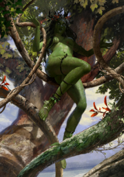Gwent cardart scoiatael forest whisperer