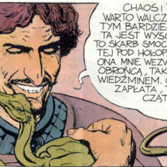 Borch as seen in graphic novel