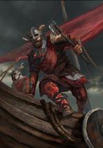 Gwent cardart skellige an craite raiders