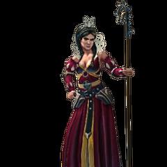 Philippa's character model for TWBA
